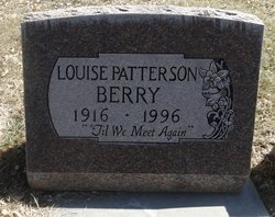 Louise <I>Paterson</I> Berry
