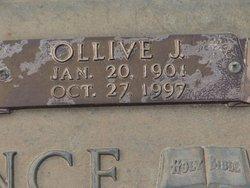Ollive Jeanette <I>Richardson</I> Lowrance