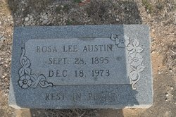 Rosa Lee <I>Johnson</I> Austin