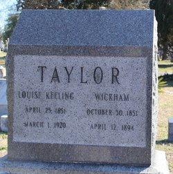 Wickham C Taylor