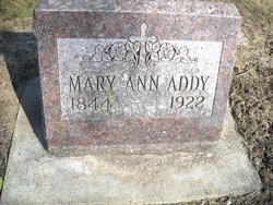 Mary Ann <I>Addy</I> Rhodes