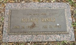 Adelaide Randle