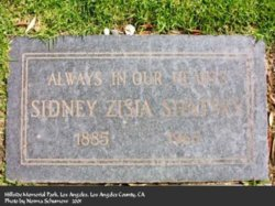 Sidney Zisia Shatsky