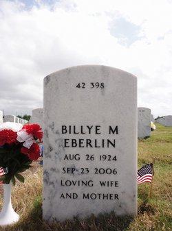 Billye Mae <I>Smith</I> Eberlin
