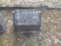 Martha <I>Dasher</I> Allen