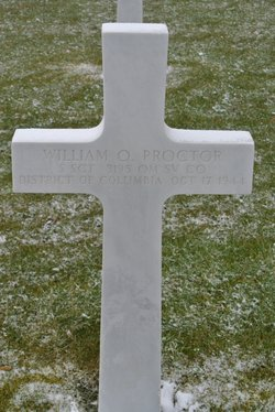 Sgt William Q Proctor
