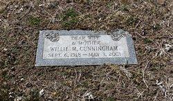 Willie Mae <I>Schales</I> Cunningham