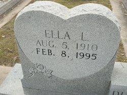 Ella L. <I>Lange</I> Duesterhoft
