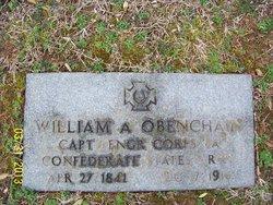 Maj William Alexander Obenchain