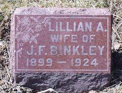 Lillian Anna Caroline <I>Russ</I> Binkley