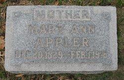 Mary Ann <I>Battenberry</I> Appler