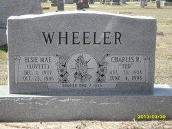 Elsie Mae <I>Lovett</I> Wheeler