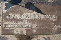 Jean J. <I>Rogers</I> Weiersheuser