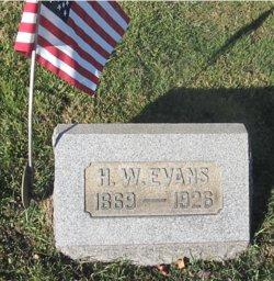 Harry W Evans