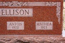 Martha <I>Olsdatter</I> Ellison