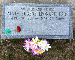 Alvin Eugene Leonard
