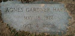 Agnes <I>Gardner</I> Hardy