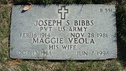 Joseph S Bibbs