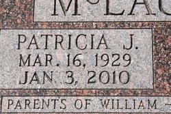Patricia Joan <I>Amsberry</I> McLaughlin
