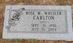 Rose M Boots <I>Whisler</I> Carlton