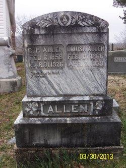 Louisa <I>Bennett</I> Allen