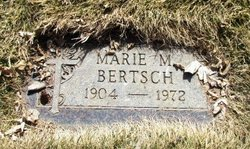 Marie M Bertsch