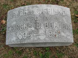 Isabel Carter <I>Friend</I> Bouldin