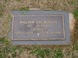 "William Lee ""Bill"" Boyles"