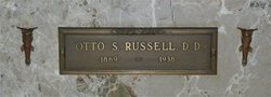 Rev Otto S. Russell