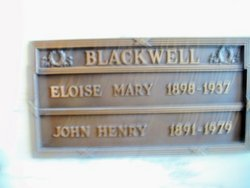 Eloise Mary Blackwell