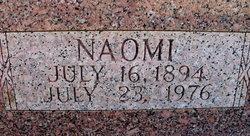 Naomi <I>McCallum</I> Arnold