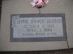 Jeffie Pearl <I>Ragsdale</I> Denton
