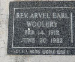 Rev Arvel Earl Woolery