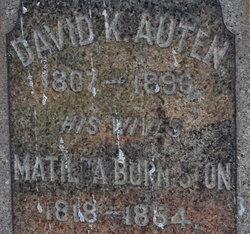 Matilda <I>Burniston</I> Auten