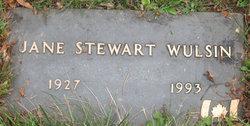 Jane Stewart Wulsin