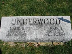 John I Underwood