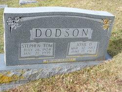 """Josephine """"Josie"""" <I>Dickens</I> DODSON"""