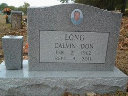 Calvin Don Long