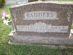 Alice E <I>Welsh</I> Badders