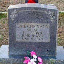 Onie V. <I>Chrismon</I> Brown