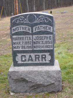 Harrietta A. <I>Jones</I> Carr