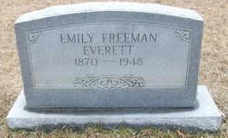 Emma A <I>Horton</I> Freeman