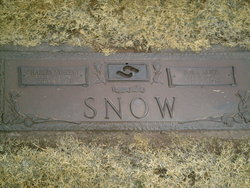 Nora Alice <I>Spencer</I> Snow