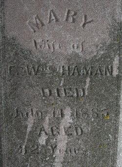 Mary E <I>Edelman</I> Haman