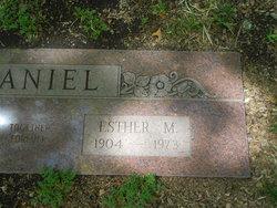 Esther Mamie <I>Spangler</I> Daniel