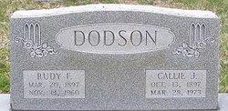 Callie D <I>Jarnagin</I> Dodson