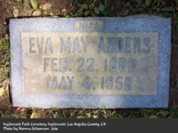 Eva May <I>Holt</I> Anders