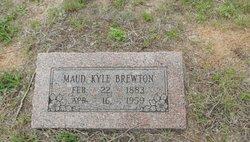 Maud <I>Kyle</I> Brewton
