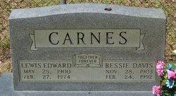 Bessie <I>Davis</I> Carnes