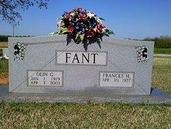 Frances <I>Hill</I> Fant